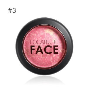 FOCALLURE Natural Face Pressed Blush Makeup