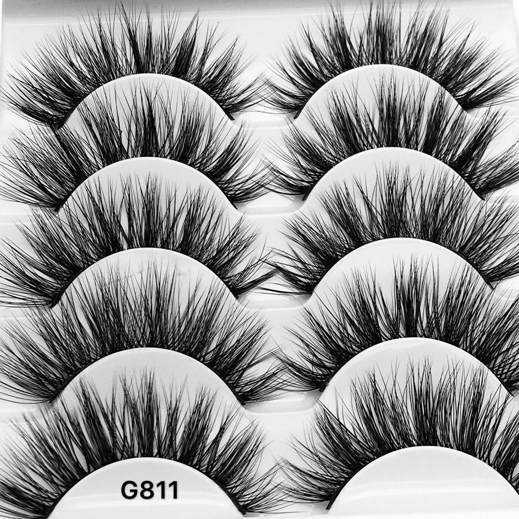 3D Natural Mink Eyelashes Extension