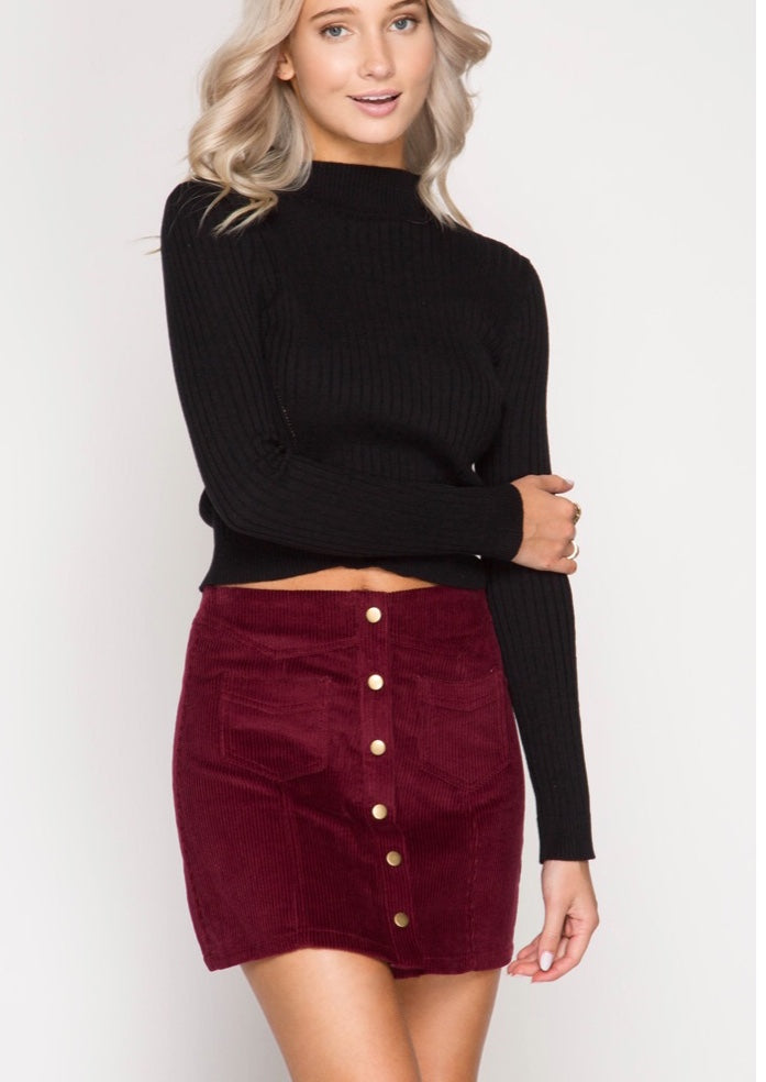 Wine and Dine Skirt