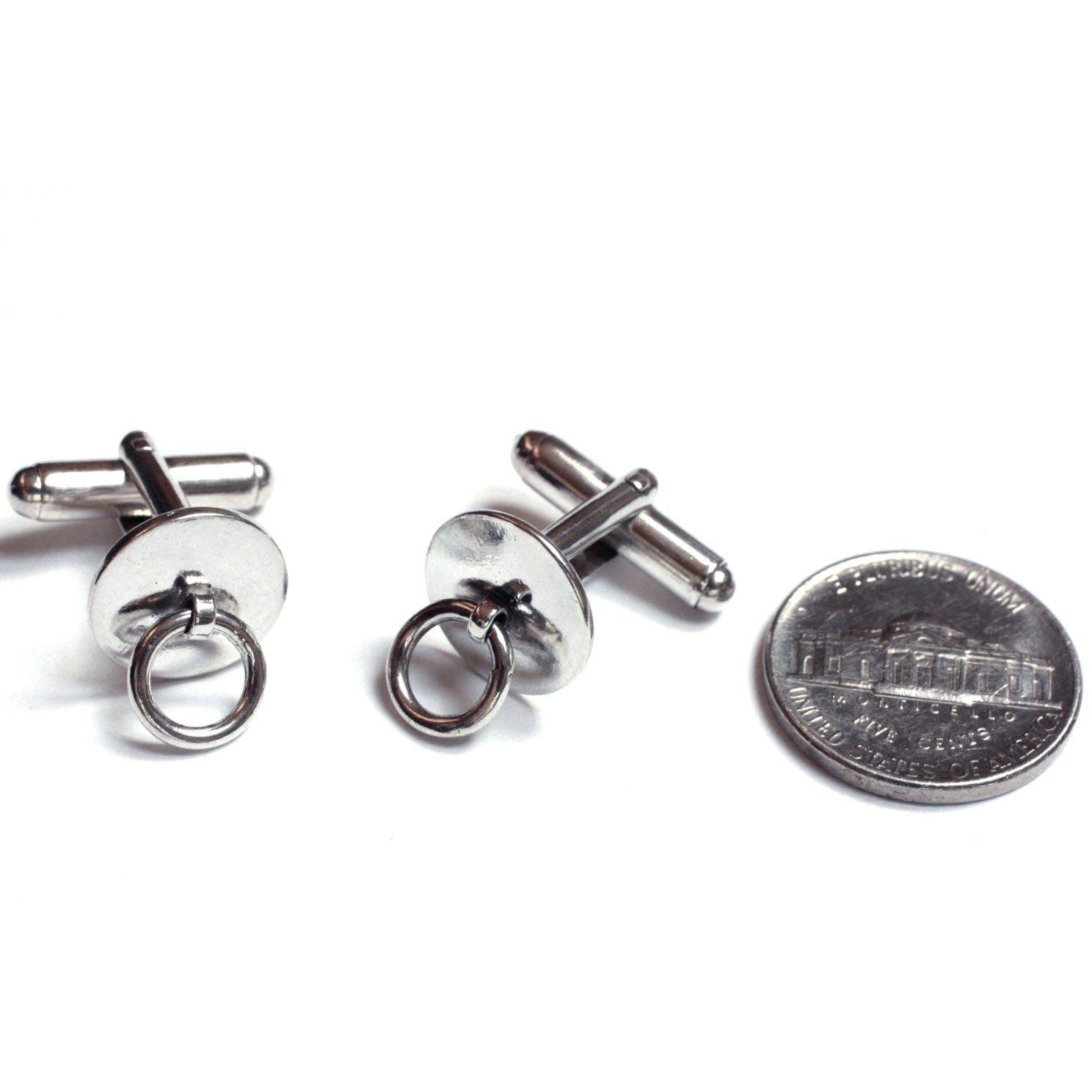 STORY OF O, BDSM CUFFLINKS.