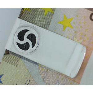 BDSM Triskele Sterling silver Money Clip