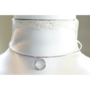DISCREET DAY COLLAR, STERLING SILVER, LIGHT AND BEAUTIFUL.
