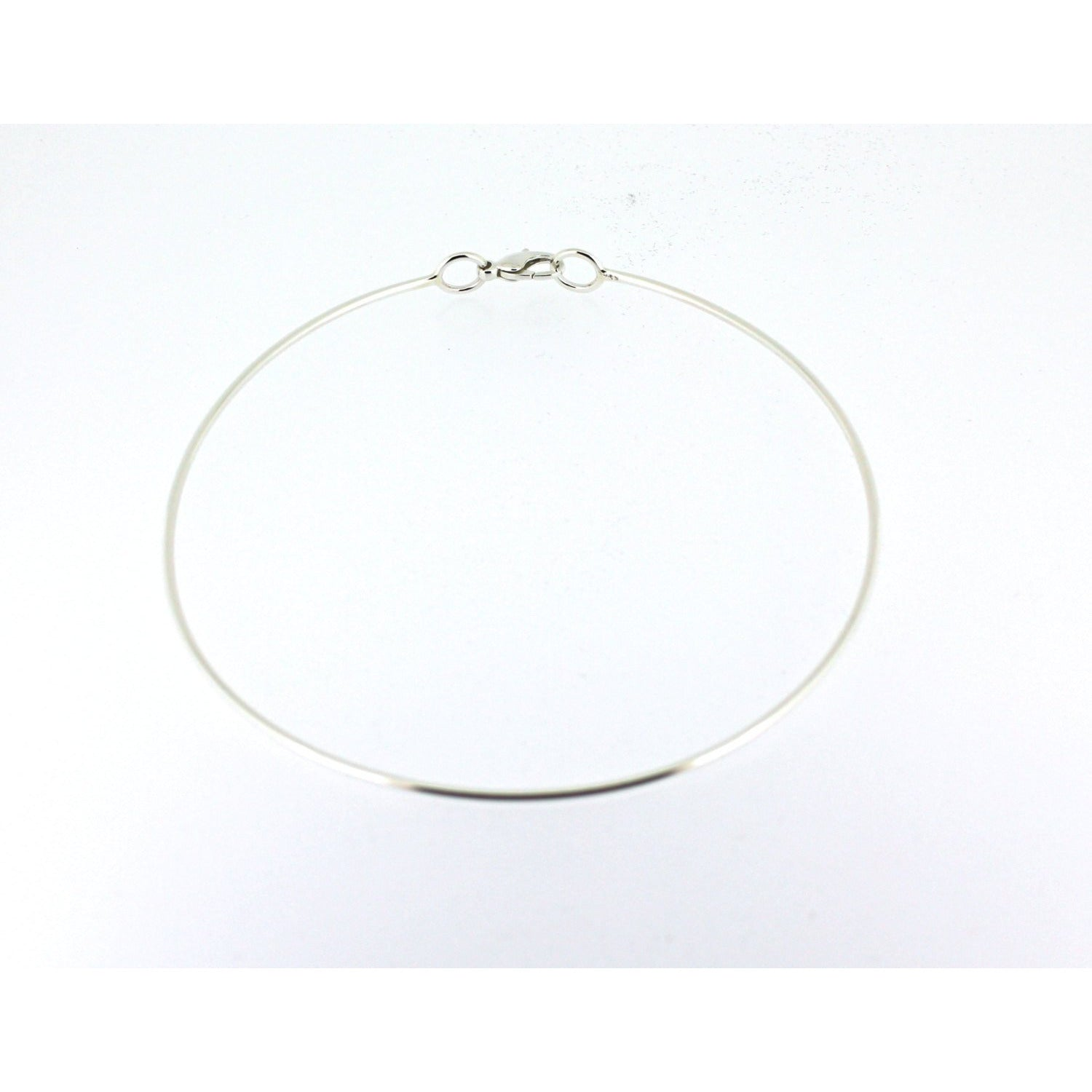 DISCREET DAY COLLAR, STERLING SILVER, CHOKER NECKLACE,UNISEX.