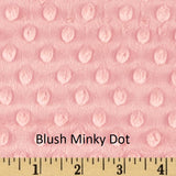 "Small Blanket (38"" x 50"") Blush Solid"