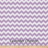 "Small Blanket (38"" x 50"") Lavender Chevron"
