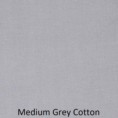 "Small Blanket (38"" x 50"") Medium Grey Solid"