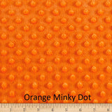 "Small Blanket (38"" x 50"") Orange Solid"