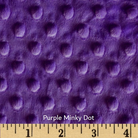 Purple Minky Weighted Blanket