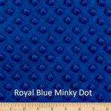 "Large Blanket 6FT (45"" x 72"") Royal Blue Solid"