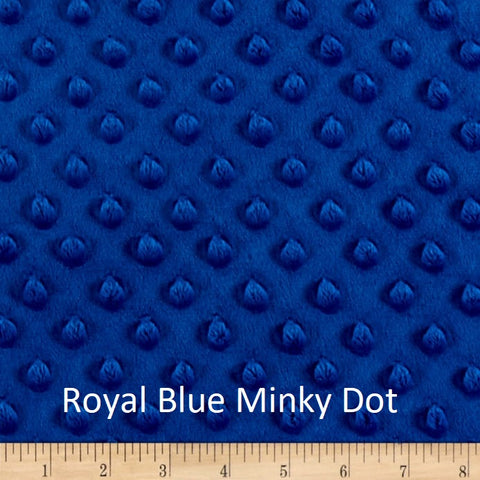 Royal Blue Minky Weighted Blanket