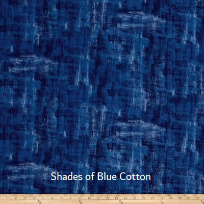 "Large Blanket 6FT (45"" x 72"") Shades of Blue"