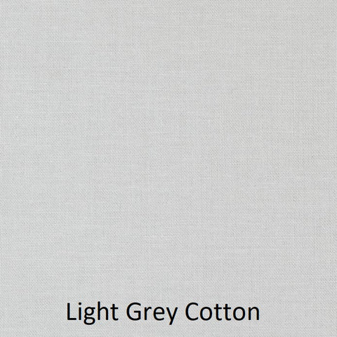 "Large Blanket 6FT (45"" x 72"") Light Grey Solid"