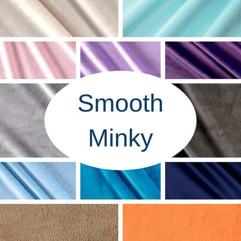 "Small Blanket 4Ft (38"" x  50"") Luxury Smooth Minky"