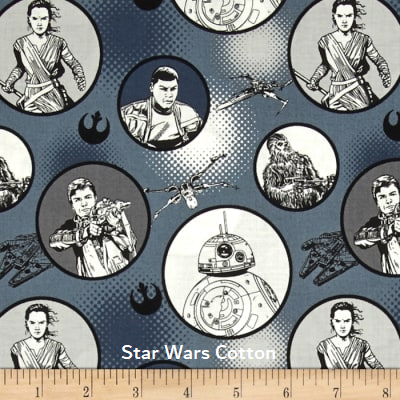 "Small Blanket (38"" x 50"") Star Wars The Force Awakens"