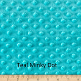 "Small Blanket (38""x 50"") Luxury Textured Minky"