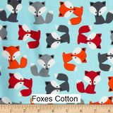 "Medium Blanket 5Ft (38"" x 60"") Foxes"