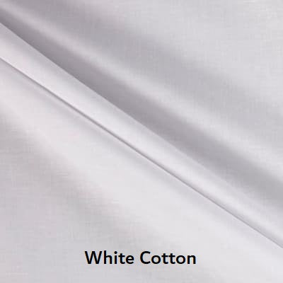"Large Blanket 6FT (45"" x 72"")  White Solid"