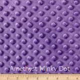 Amethyst Minky Weighted Blanket