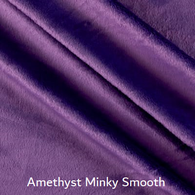 Amethyst Minky Smooth Weighted Blanket