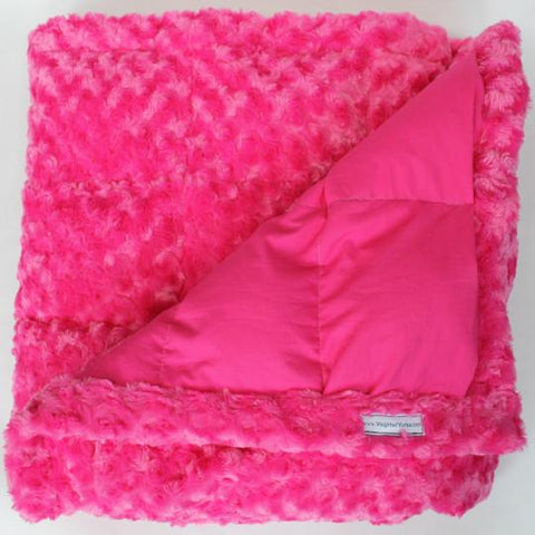 Pink Swirl Weighted Blanket