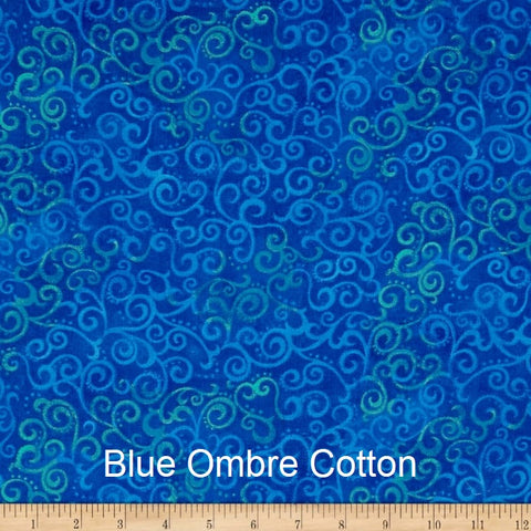 "Large Blanket 6FT (45"" x 72"") Blue Ombre"