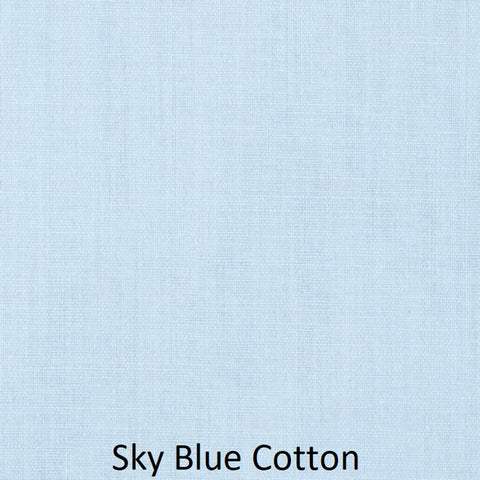 "Medium Blanket 5Ft (38""x60"") Sky Blue Solid"