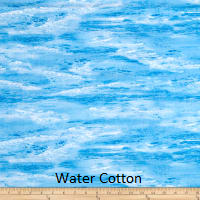 "Large Blanket 6FT (45"" x 72"") Water"