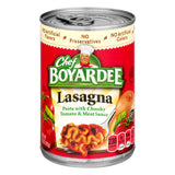 Canned Pasta