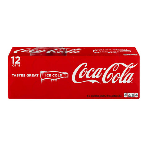 Coca-Cola Products-12 pks (Includes .60 Deposit)