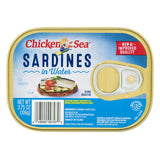 Canned Crabmeat, Sardines & Salmon