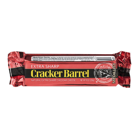 Cracker Barrell Bar Cheese & Cuts (7-8 oz)