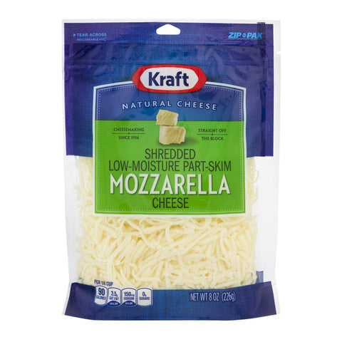 Kraft Shredded Cheese (8 oz)
