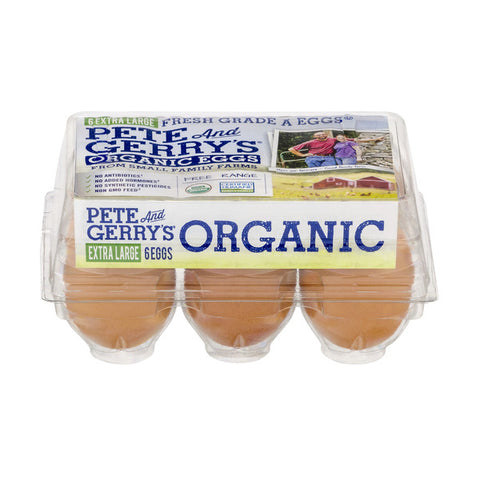 Pete & Jerry's Organic Eggs