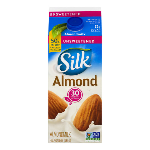 Silk Milk Substitutes