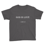 1 John 4:8 Youth T-Shirt