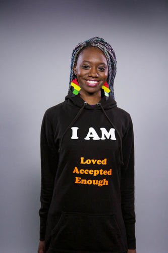 I am loved, accepted, enough jumper dress