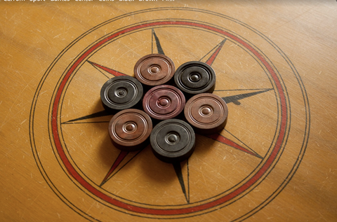 Splay Carrom Board Wooden Carom board for play