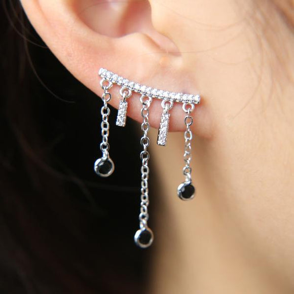 Ear cuff Telly plaqué or