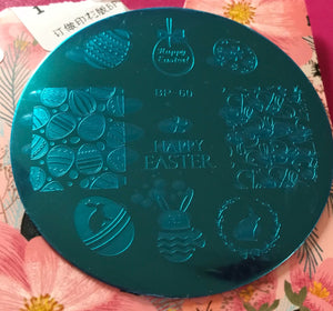 Easter Stamping Plate