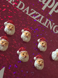 Santa Face Embellishments