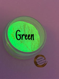 Glow in the Dark Neon Pigments