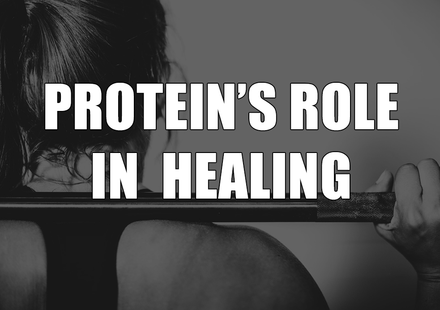 The Role of Protein in Healing