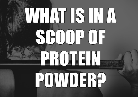 What is in a Scoop of Protein Powder?