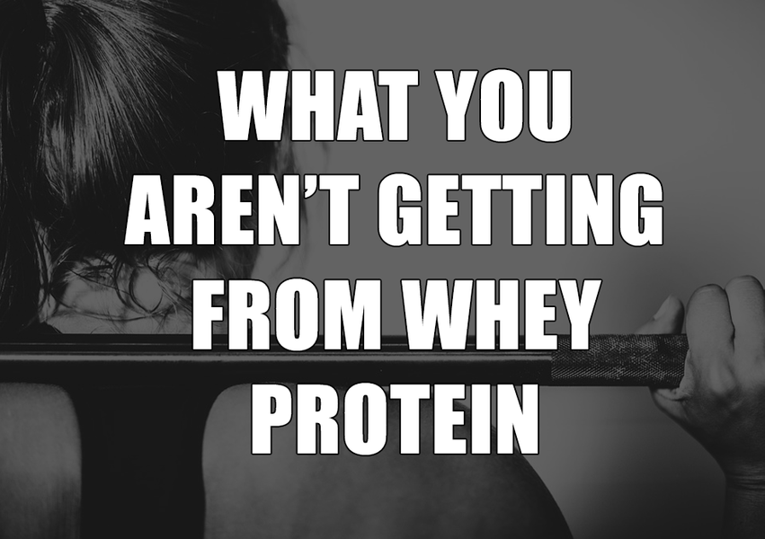 What You Don't Get From Whey Protein