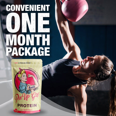 convenient one month protein package