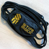 *NEW* Stipe Gold Logo Mask