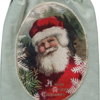 Dish Towel - A Very Merry Christmas Vintage Santa