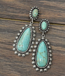 The Neon Moon Turquoise Earrings
