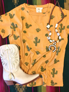 The Eithel Cactus Cutout Top