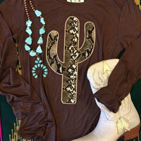 The Estell Cactus Long Sleeve Top